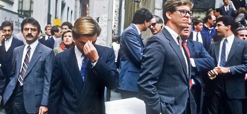 Black Monday - The stock market crash of 1987