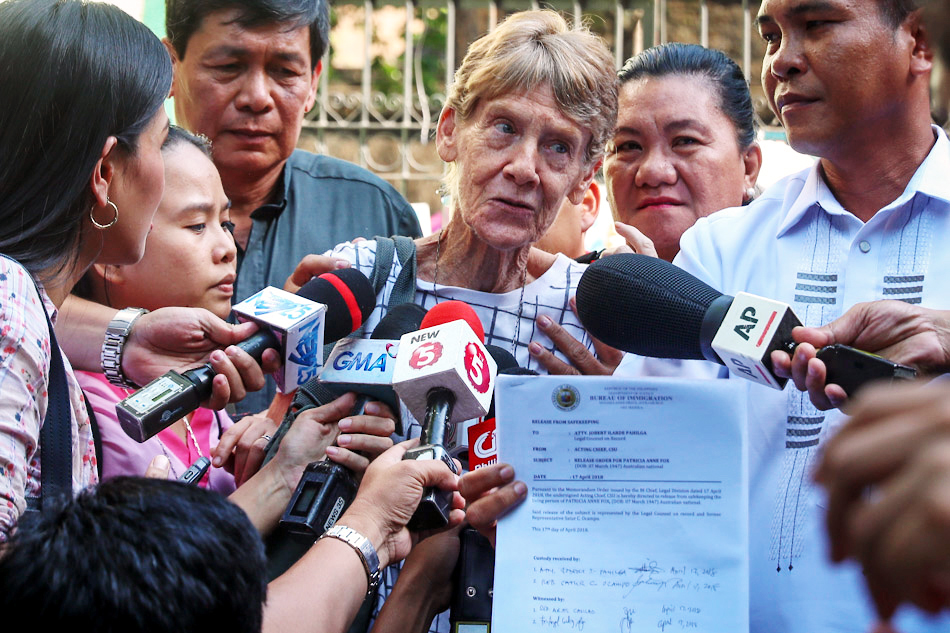 Nun on deportation list for tangling with Duterte